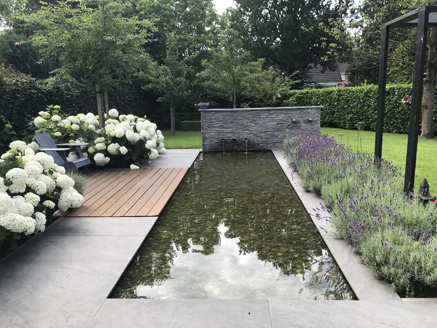 Onderhoudsvriendelijke tuin drachten