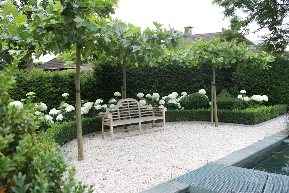 Moderne tuinen met grind amazing terras van grind with terras van
